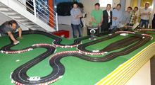 Auto-Rennbahn